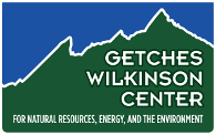 Getches-Wilkinson Center for Natural Resources, Energy, and the Environment Logo